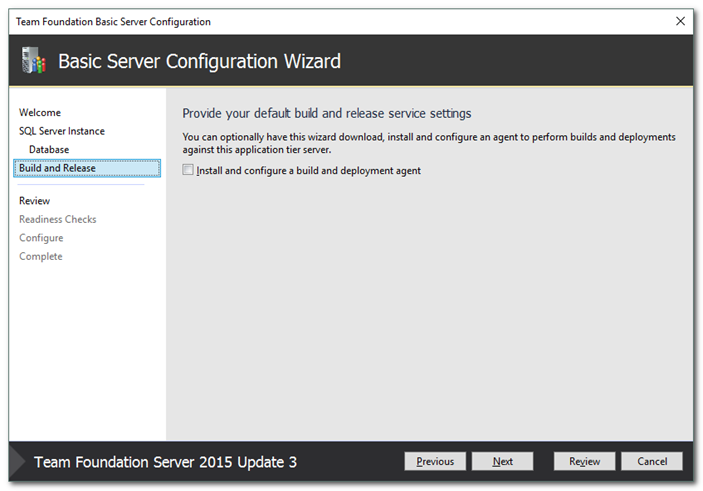 TFS Continuous Integration Walk Through Part 1 - Installing TFS And